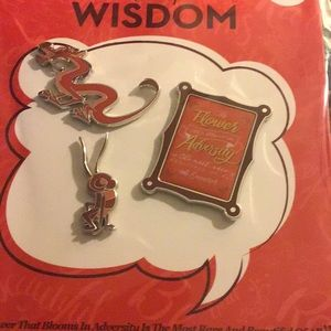 Disney wisdom February release pin set